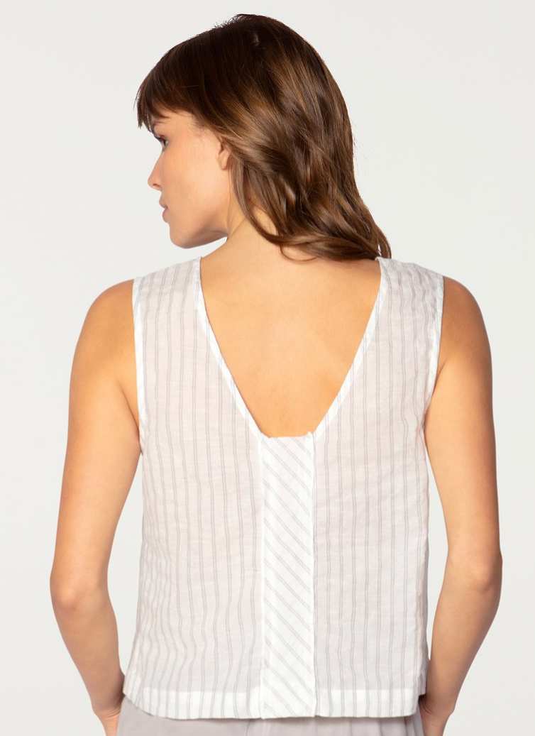 York Street Back V Neck Tank | 4sisters1closet