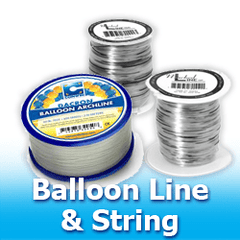 Balloon Line and String