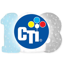 38 inch CTI Numbers Foil Mylar Balloons