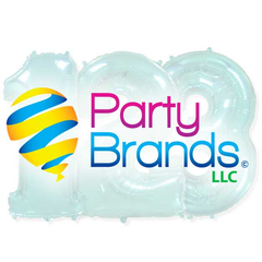 42 inch LA Balloons Numbers Foil Mylar Balloons