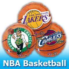 NBA - Basketball Balloons