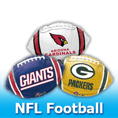 NFL - FootBall Balloons