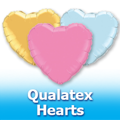 Qualatex Hearts Balloons