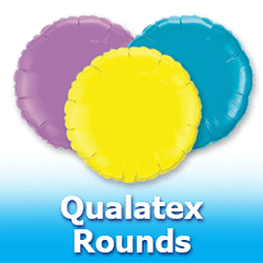 Qualatex Rounds Foil Mylar Balloons