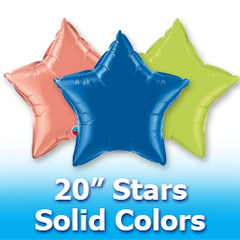 "20"" Stars - Solid Colors"