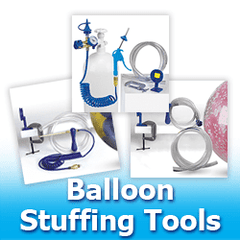 Balloon Stuffing Tools