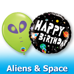 Aliens and Space Balloons