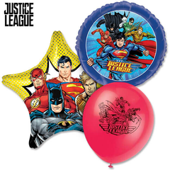 Justice League Balloons