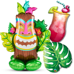 Tropical & Luau Balloons