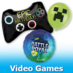 Video Game Balloons