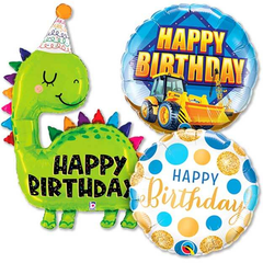 Happy Birthday Boy Balloons