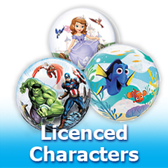 Bubbles Licensed Characters Balloons