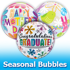 Bubbles Seasonal Balloons