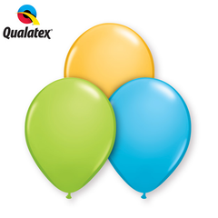 "Qualatex 11"" - Round Latex Balloons"