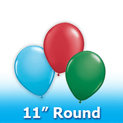 "11"" - Round  Latex Balloons"