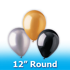 "12"" - Round  Latex Balloons"