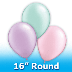 "16"" - Round  Latex Balloons"