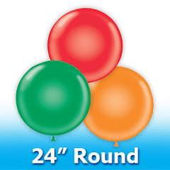 "24"" - Round  Latex Balloons"