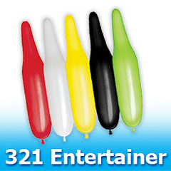 321 - Entertainer  Latex Balloons