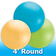 4ft - Round  Latex Balloons