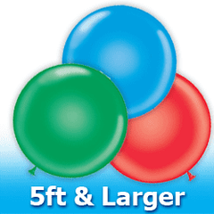 5ft and Larger  Latex Balloons