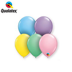"Qualatex 5"" - Round Latex Balloons"