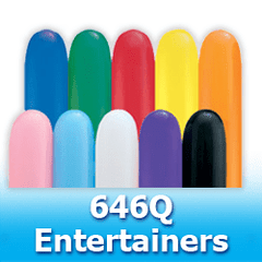 646 - Entertainer  Latex Balloons