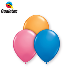 "Qualatex 9"" - Round Latex Balloons"