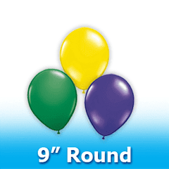 "9"" - Round  Latex Balloons"
