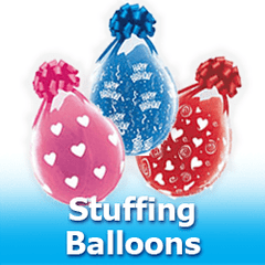 Stuffing Balloons Latex Balloons