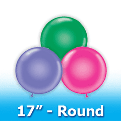 "Tuf -Tex 17"" - Round Latex Balloons"
