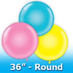 "Tuf -Tex 36"" - Round Latex Balloons"