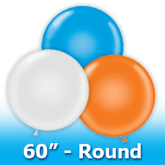 "Tuf -Tex 60"" - Round Latex Balloons"