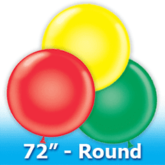 "Tuf -Tex 72"" - Round Latex Balloons"