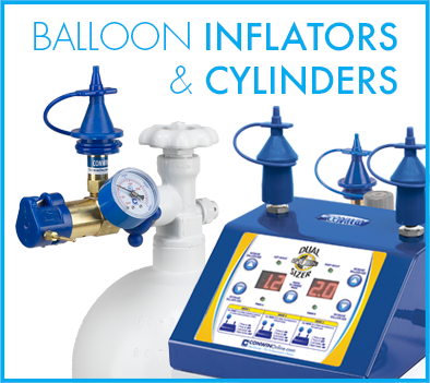 Balloon Inflators and Cylinders
