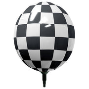 17″ GIZMO BLACK & WHITE CHECKERED
