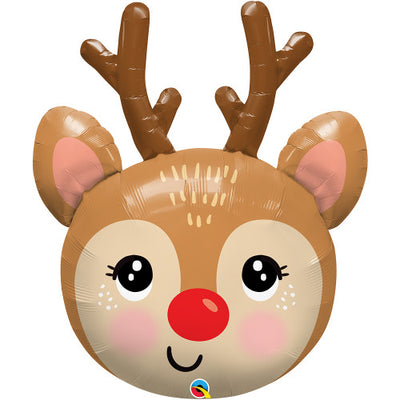 35″ RED-NOSED REINDEER