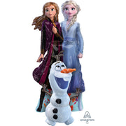 58″ FROZEN 2 ELSA & ANNA AIRWALKERS (AIR-FILLED ONLY)