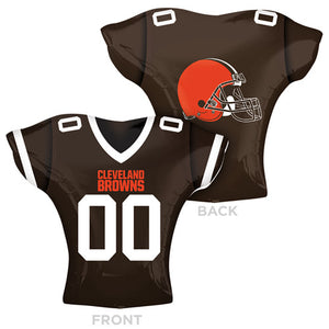 24″ NFL CLEVELAND BROWNS FOOTBALL JERSEY