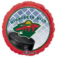 18″ NHL MINNESOTA WILD HOCKEY TEAM
