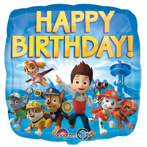 18″ PAW PATROL HAPPY BIRTHDAY