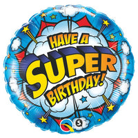 18″ HAVE A SUPER BIRTHDAY!