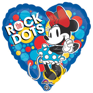18″ MINNIE ROCK THE DOTS