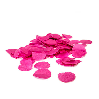 TISSUE CONFETTI - HOT PINK