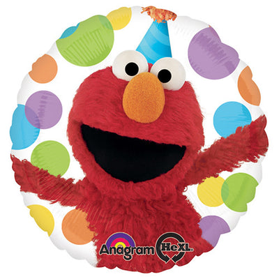 18″ ELMO HAPPY BIRTHDAY