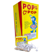 POP POP PARTY SNAPS (50 PK) YELLOW BOX