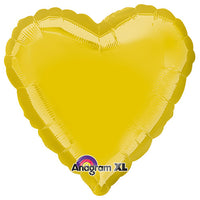 18″ HEART - LITE METALLIC GOLD