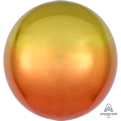 16″ OMBRE ORBZ - YELLOW & ORANGE