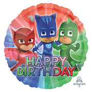 18″ HAPPY BIRTHDAY DISNEY PJ MASKS