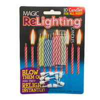 MAGIC RELIGHTING CANDLES (10PK)